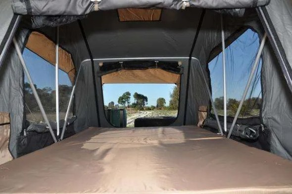 Roof top Tent interior FrontRunner