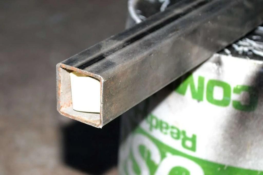 Trailer Rack No Weld Bracket Tube Marking