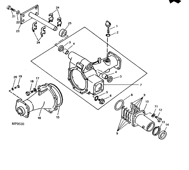 2 Cylinder Deutz Engine Parts