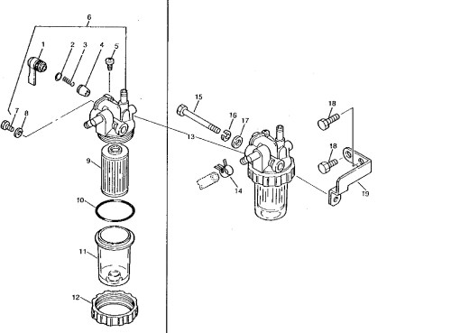 small resolution of injector parts fuel filters glow plugs for john deere compact tractors mix fuel filter element