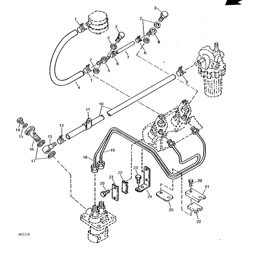 medium resolution of john deere 855 engine diagram wiring diagram paper injector parts fuel filters glow plugs for john