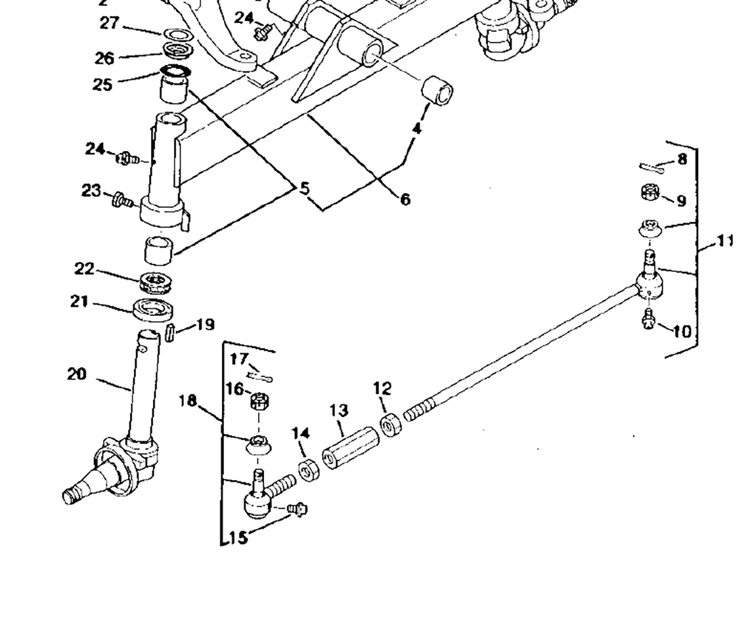 4310 John Deere Steering Parts Diagram John Deere 2210