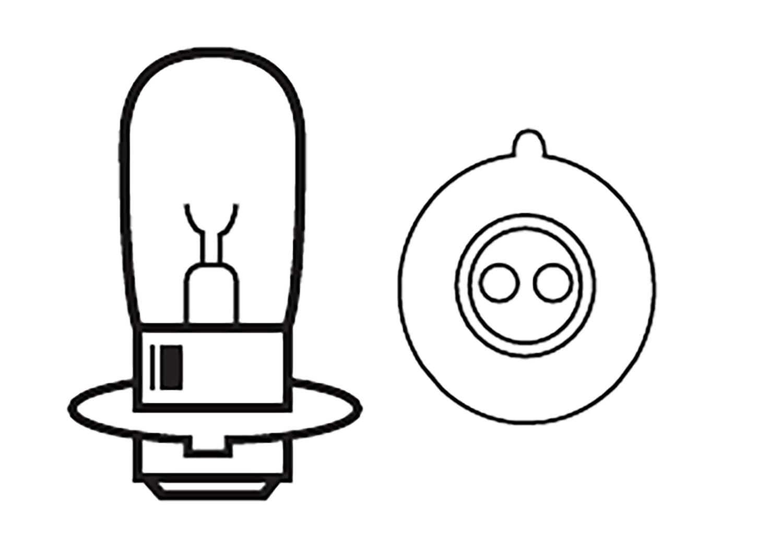Headlight Bulb 12v 25 25 W