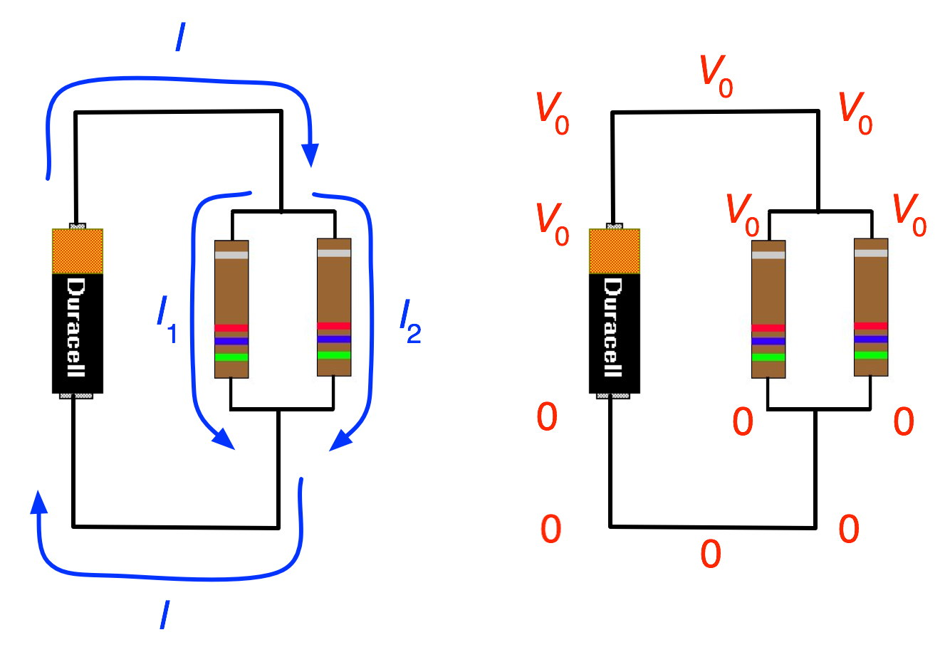 Example Resistors In Parallel