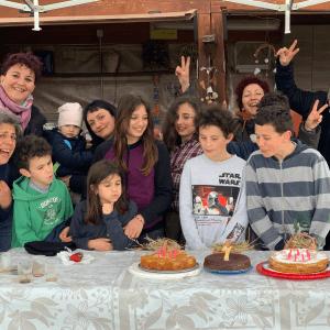 7 candeline sulla torta della Compagnia
