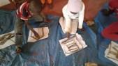 atelier sculpture branche argile1