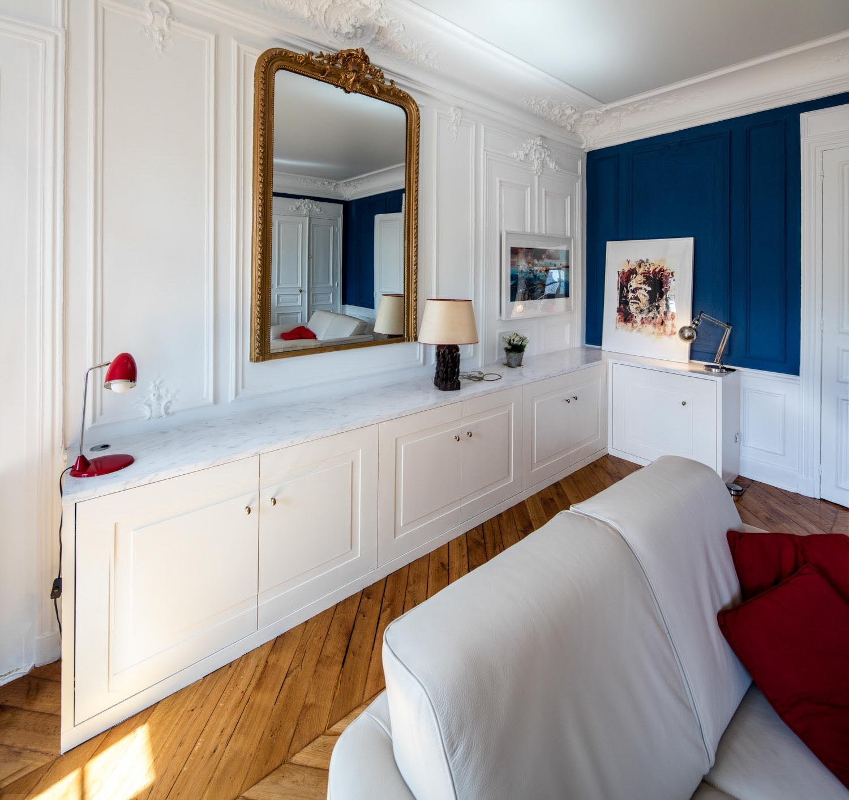 meuble bas sur mesure design compagnie