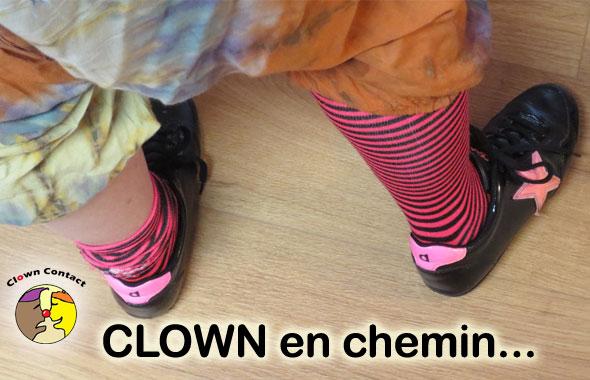 Stage clown adultes Clown en chemin