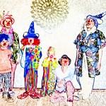 Visuel Ô Jardin des clowns ! en famille @Cie du Nez qui bouge