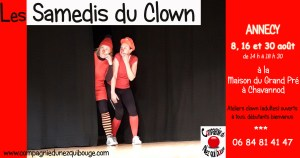 Ateliers clown adultes Annecy