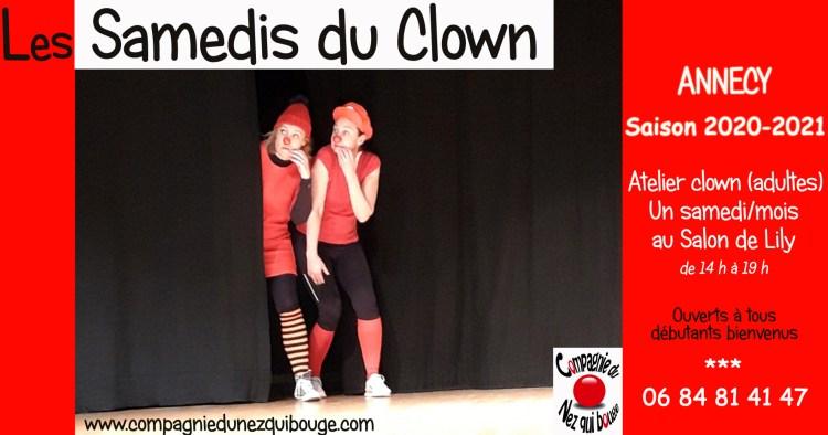 Les Samedis du Clown Annecy 2020-2021