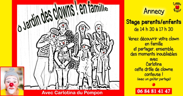 Stage clown parents-enfants Cie du Nez qui bouge