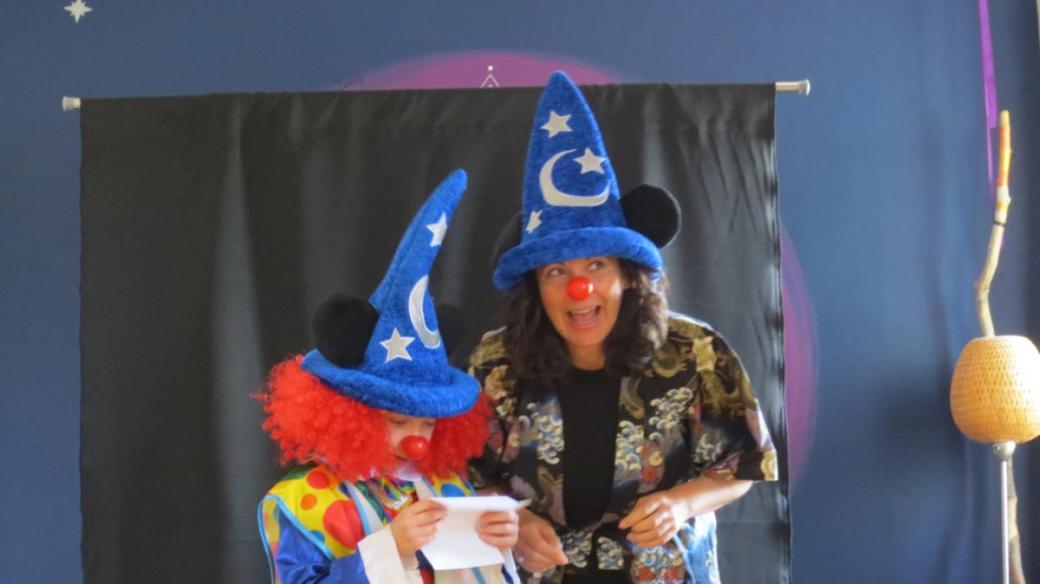 Ô Jardin des clowns en famille