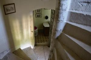Manoir - L'escalier de pierre