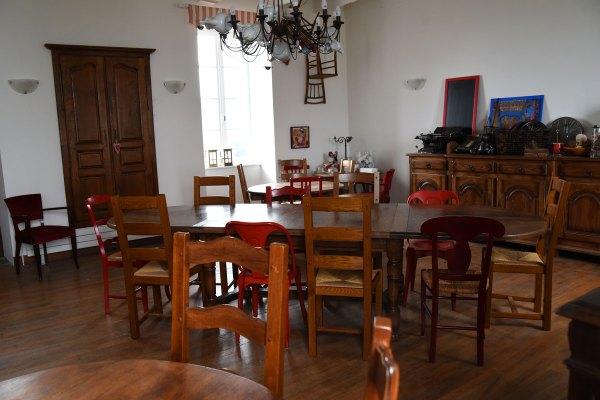 La salle à manger ou salle de travail