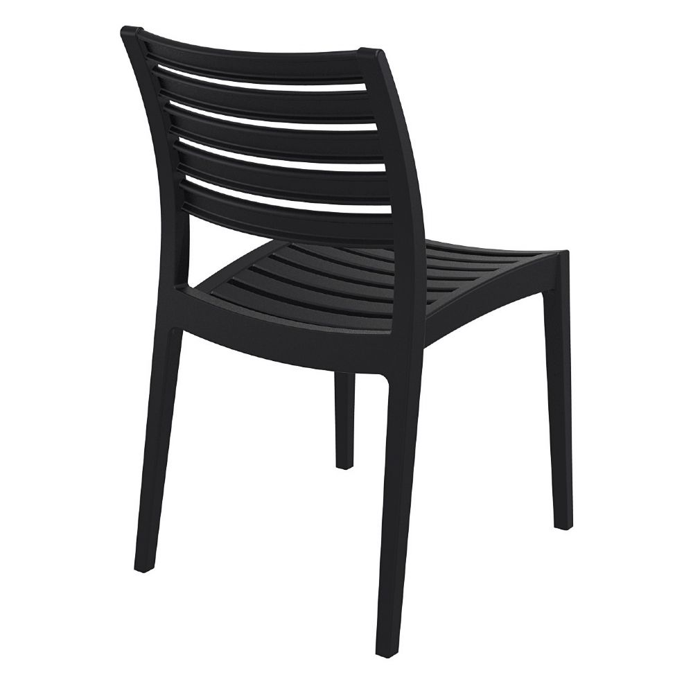 Compamia  Ares Resin Outdoor Dining Chair Black ISP009BLA
