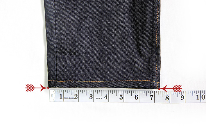 how to measure. waist. front rise. back rise. best fitting. jeans.denim.raw denim