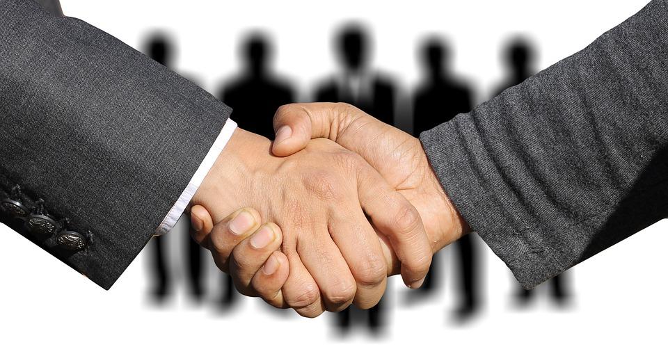 Collective agreement handshake