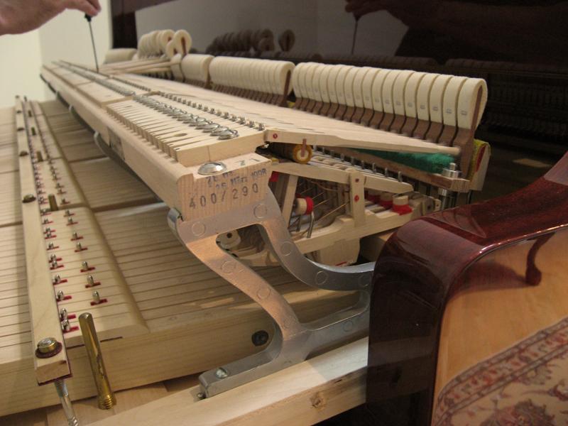 Piano Parts Diagram