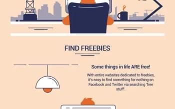 Company Debt Social Media Infographic