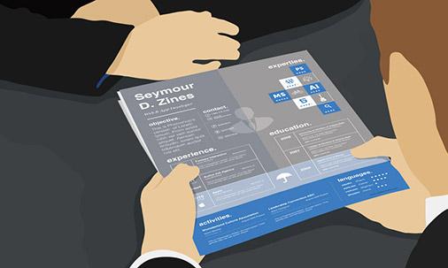 resume internship graphic design