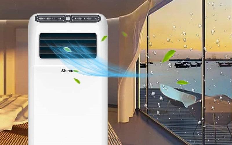 Climatiseur mobile Shinco - appareils polyvalents
