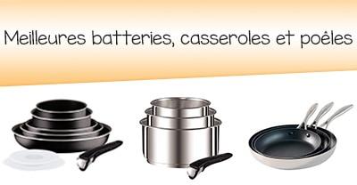 de cuisine et sets de casseroles