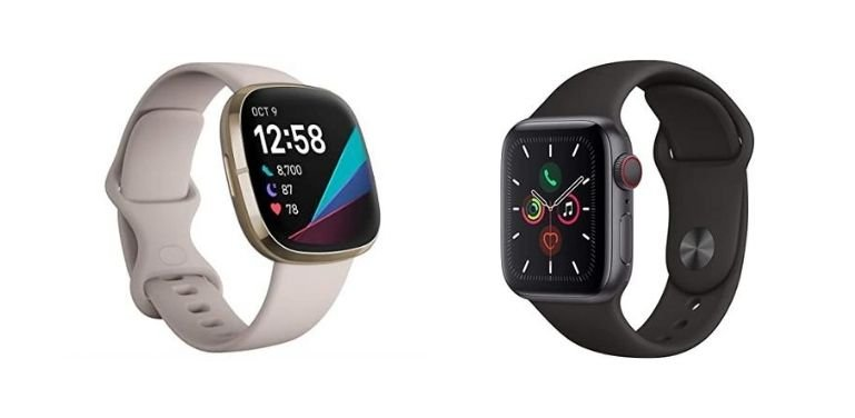 Fitbit Sense vs Apple Watch Series 5 (2020): Is It Time To Leave The iOS Ecosystem? - Compare Before Buying
