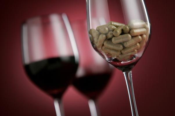 Resultado de imagen de droga en vino