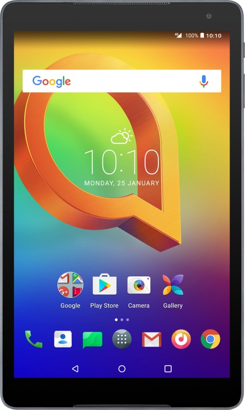 Alcatel A3 10 (VOLTE) 16 GB 10.1 inch with Wi-Fi+4G Tablet(Volcano Black)