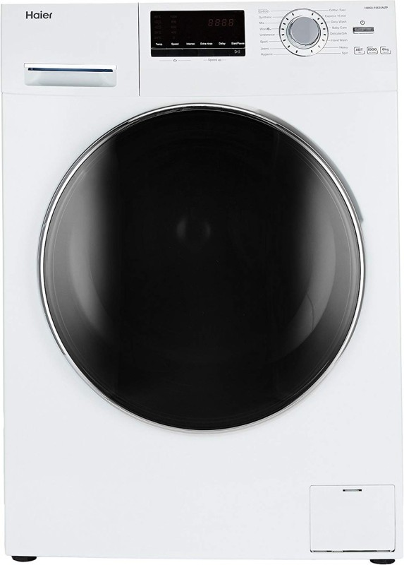 Haier 6 kg Fully Automatic Front Load with In-built Heater (HW60-10636WNZP)