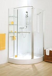 Cipini Verona Corner Storage Shower With Shelving Unit ...