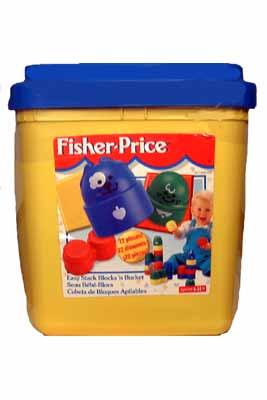 Fisher Price Easy Stack Blocks n Bucket Building Toy
