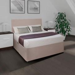 Limelight Triton Sofa Bed Beige North Carolina Leather Tempo Mattress