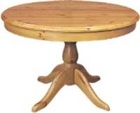 Round Pine Kitchen Table