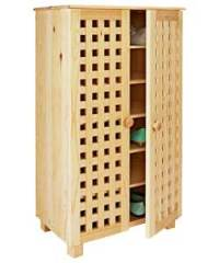 Solid Pine Shoe Cabinet - review, compare prices, buy online