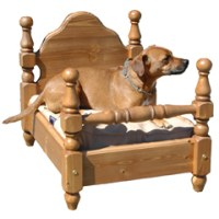 Amaroni Classic 4 Poster Dog Bed Small - review, compare ...