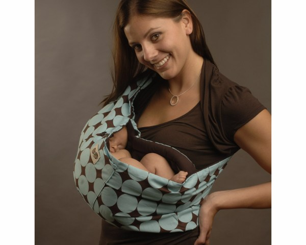 Peanut Shell Baby Sling - Blue Large - Compare