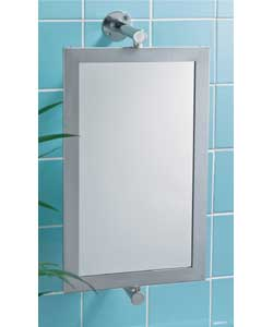Swivel Mirror with Two Baskets Bathroom Mirror  review