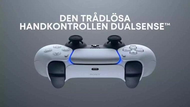 tillbehör till playstation 5 dualsence kontroller  PS5 tillbehör