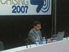 """Roma, 22.04.2007 - Roma Expo Franchising 2007 - Dott.Rag.Mirco Comparini - Seminario: """"Analisi economica e finanziaria di un'affiliazione""""."""