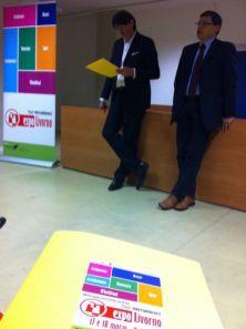 Livorno, 16.03.2012 - Expo Livorno 2012 – Presentazione dell'evento a cura Marco Gammanossi (Pegaso Eventi) e Mirco Comparini (Studio Comparini & Russo)