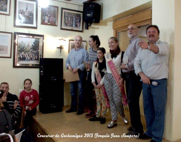 Concurso de gachamigas garibaldinos 2015