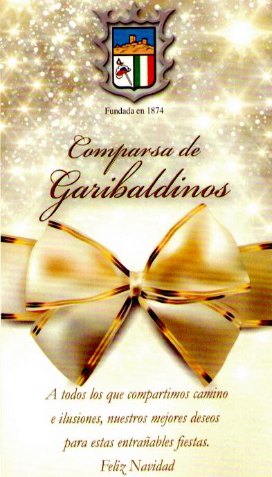 Feliz Navidad Garibaldinos 2012