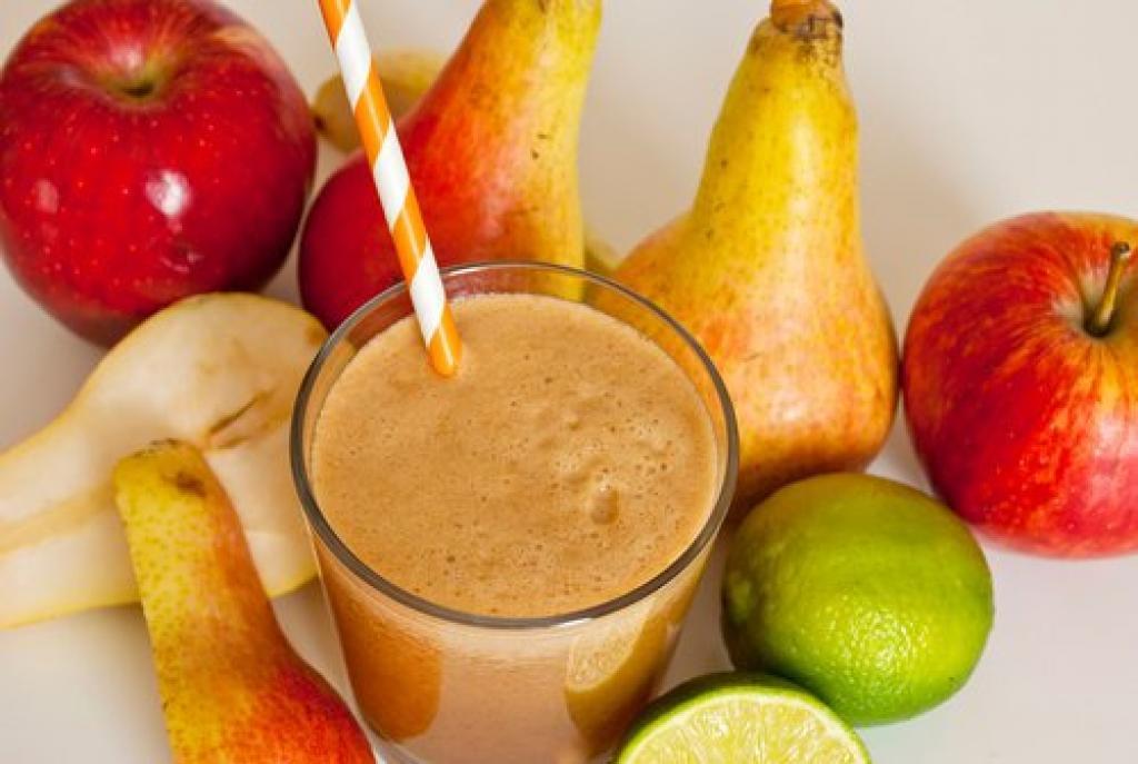 Resultado de imagen para batido detox de naranja pera manzana y limón