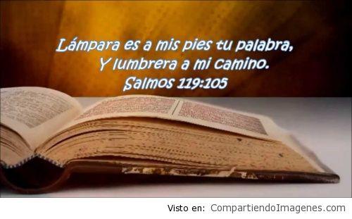 Lampara es a mis pies tu palabra  Imagenes Cristianas