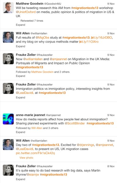 Twitter / Search - #migrationtexts13