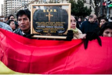 a protest in valencia