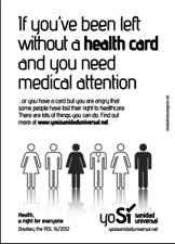 'Yo Sí Sanidad Universal' is a platform in defense of the public health system.