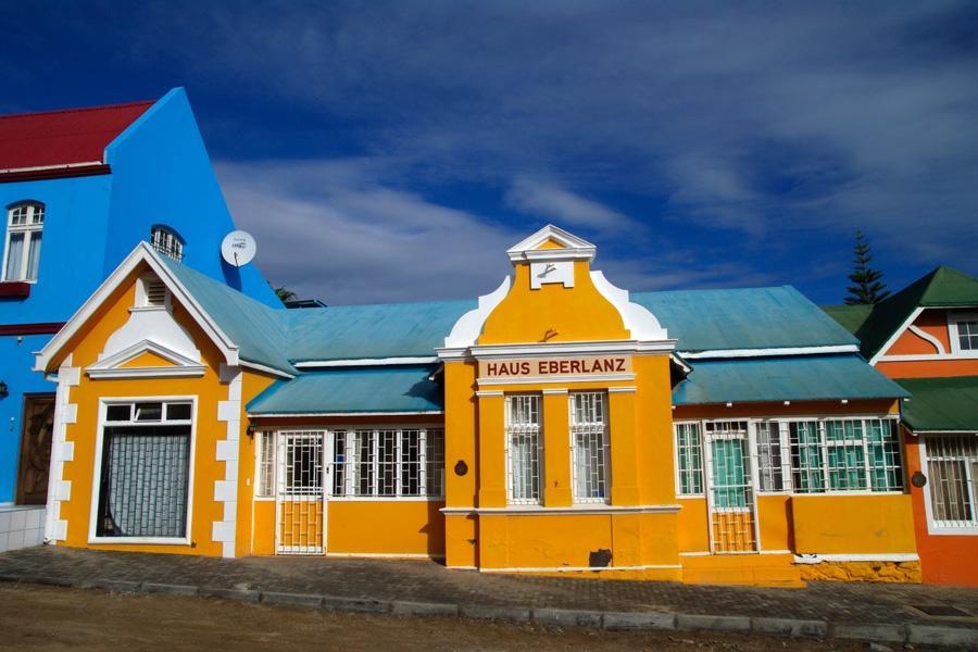 Lderitz  Kstenstadt im Sperrgebiet im Sden Namibias
